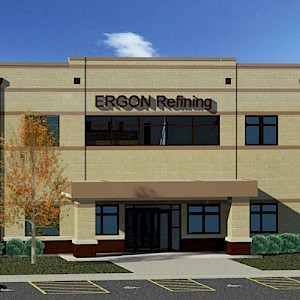 Building a New Relationship: Ergon Refining Office & Lab, Vicksburg, MS