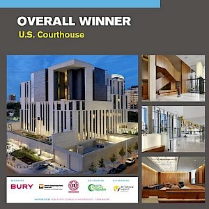"U.S. Courthouse in Austin is ""Overall Winner"""