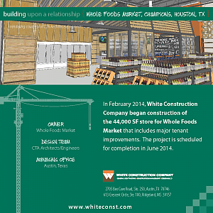 Building Upon a Relationship: Whole Foods Market, Champions, Houston, TX