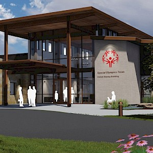 Building a New Relationship: Special Olympics Texas New HQ, Austin, TX
