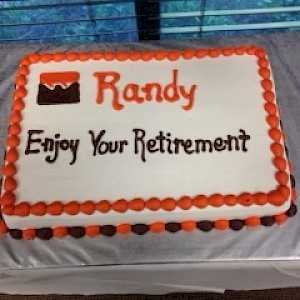 Retirement Reception for Randy Rodman