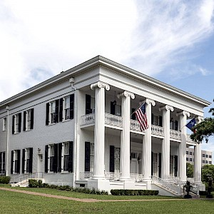 The Restored Texas Governor's Mansion