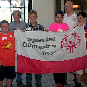 WCC Volunteer Day at Special Olympics Texas