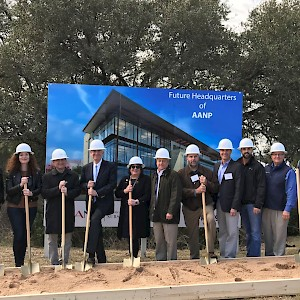 Construction Starts on American Association of Nurse Practitioners HQ