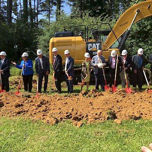 Groundbreaking of the Horne Office Building