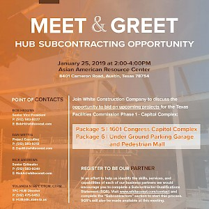 Meet and Greet - HUB Subcontracting Opportunity